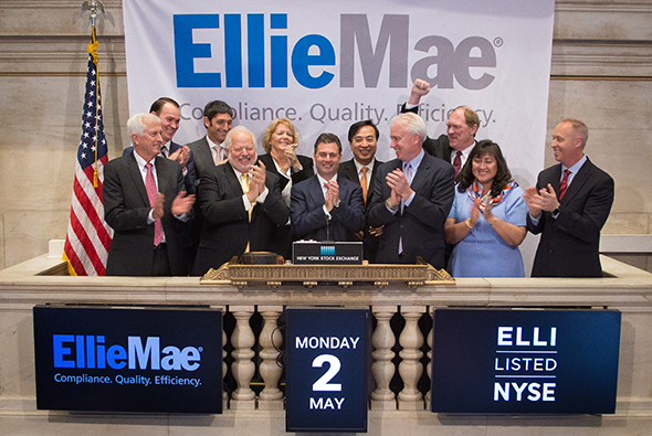Ellie Mae Rings in Five Years of being Listed on the NYSE